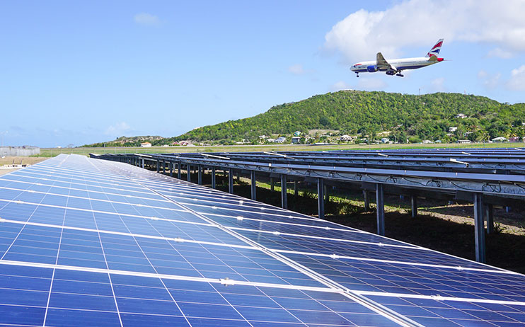 Antigua S Airport Solar Power Plant Exceeds Expected