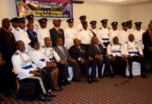 Police Long-Service medal awardees