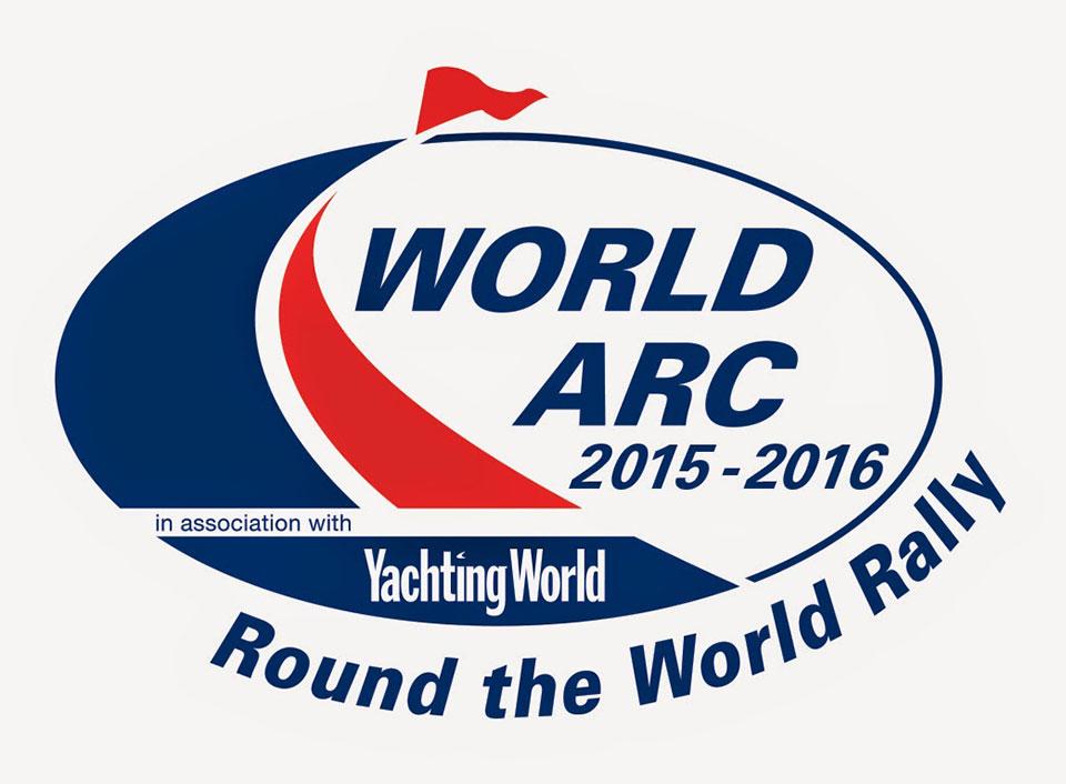 World ARC 2015/2016 - Lagoon 620 Makena crosses the start line in Saint Lucia © WCC