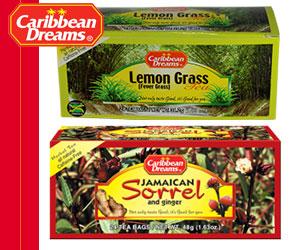 Caribbean Dreams - Lemon Grass and Jamaican Sorrel and Ginger