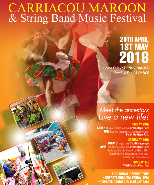 Carriacou Maroon and String Band Music Festival