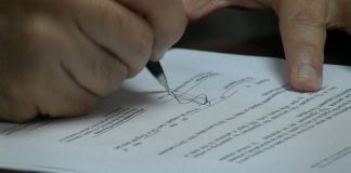 Contract Agreement Sign