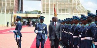 Prime Minister Rowley in Ghana