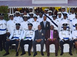 St. Kitts Police Officers