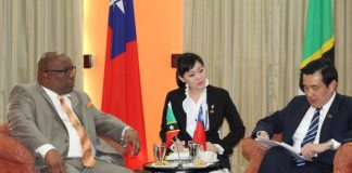 PM Harris with Taiwan's President