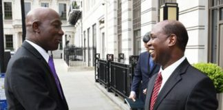 Prime Minister Keith Rowley meets BP