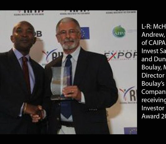 Du Boulay, investor of the year award