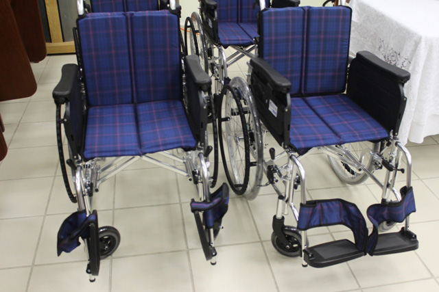 Wheelchairs from Japan