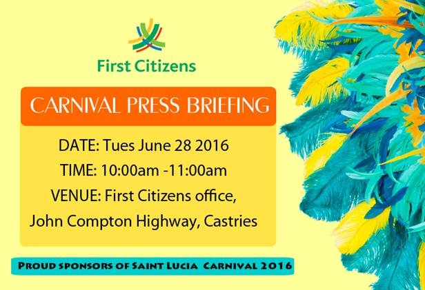 First Citizens Press Briefing Carnival 2016