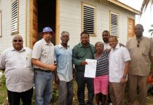 Houses deliver to Hurricane Earl victims