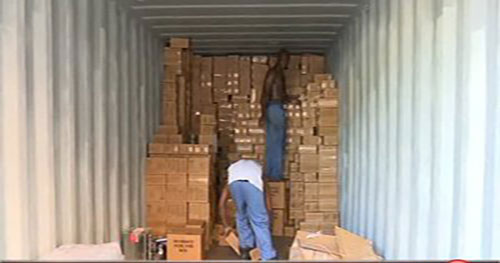 Container to Haiti