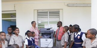 CDB assisting education in Barbados through donations