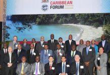 Delegates at the International Monetary Fund (IMF) 2016 High Level Caribbean Forum