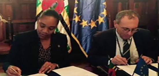 Dominica Signs EU Agreement