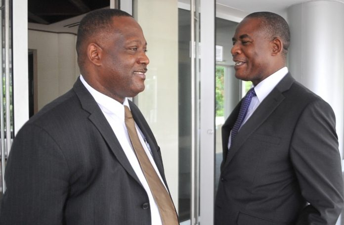 Donville Inniss and Reginald Farley