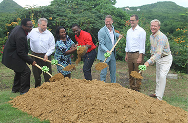 Levera Beach Resort breaks ground