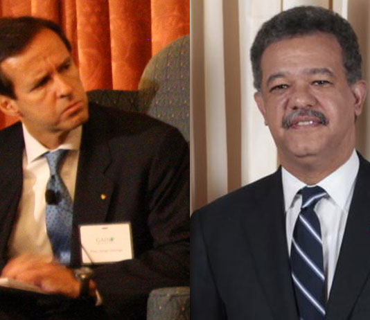 Leonel Fernández and Jorge Quiroga