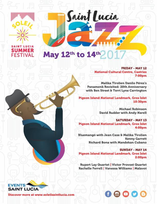 Soleil - Saint Lucia Jazz Scedule