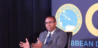 Director of Economics - Caribbean Development Bank - Justin Ram