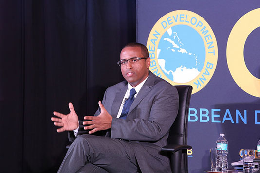 Director of Economics - Caribbean Development Bank - Justin Ram
