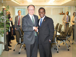 Grenada PM meets with World Bank President