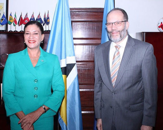Saint Lucia's new Ambassador to CARICOM - Elma Gene Isaac