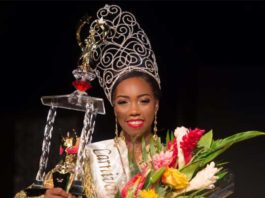 Chancy Fontenelle - St. Luica 2017 Carnival Queen
