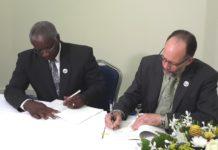 PM Stuart and CARICOM SG sign CARIFESTA XIII agreement