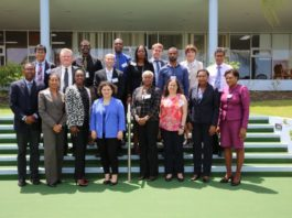 Participants in the OECS Public Procurement Reform Workshop, held at the Caribbean Development Bank from June 20-21, 2017.