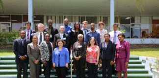 Participants in the OECS Public Procurement Reform Workshop, held at the Caribbean Development Bank from June 20-21, 2017.