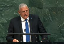 Allen Chastanet at the UN