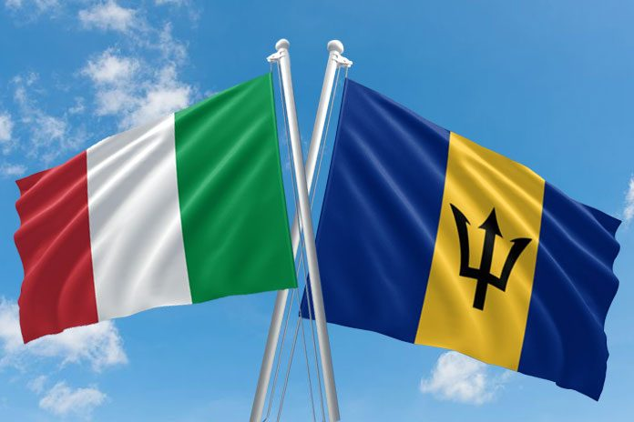 Barbados and Italy