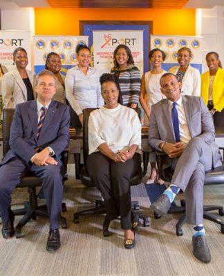Members of the WE-Xport programme team - women-owned businesses
