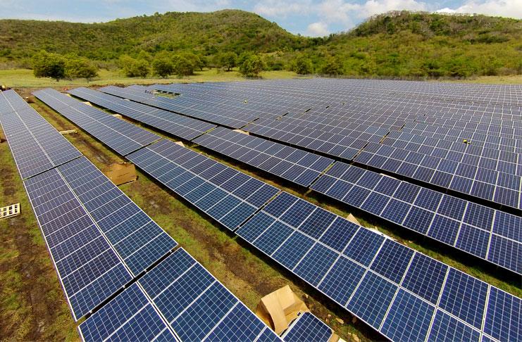 LUCELEC Solar Farm