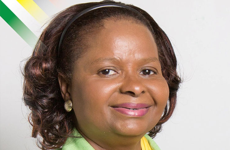Public Health Minister Volda Lawrence