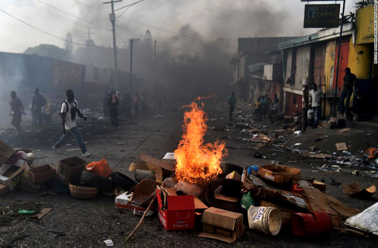 Haiti's tense situation