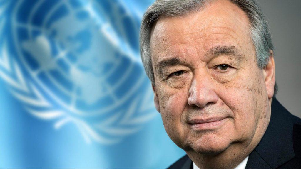 UN Secretary-General - António Guterres