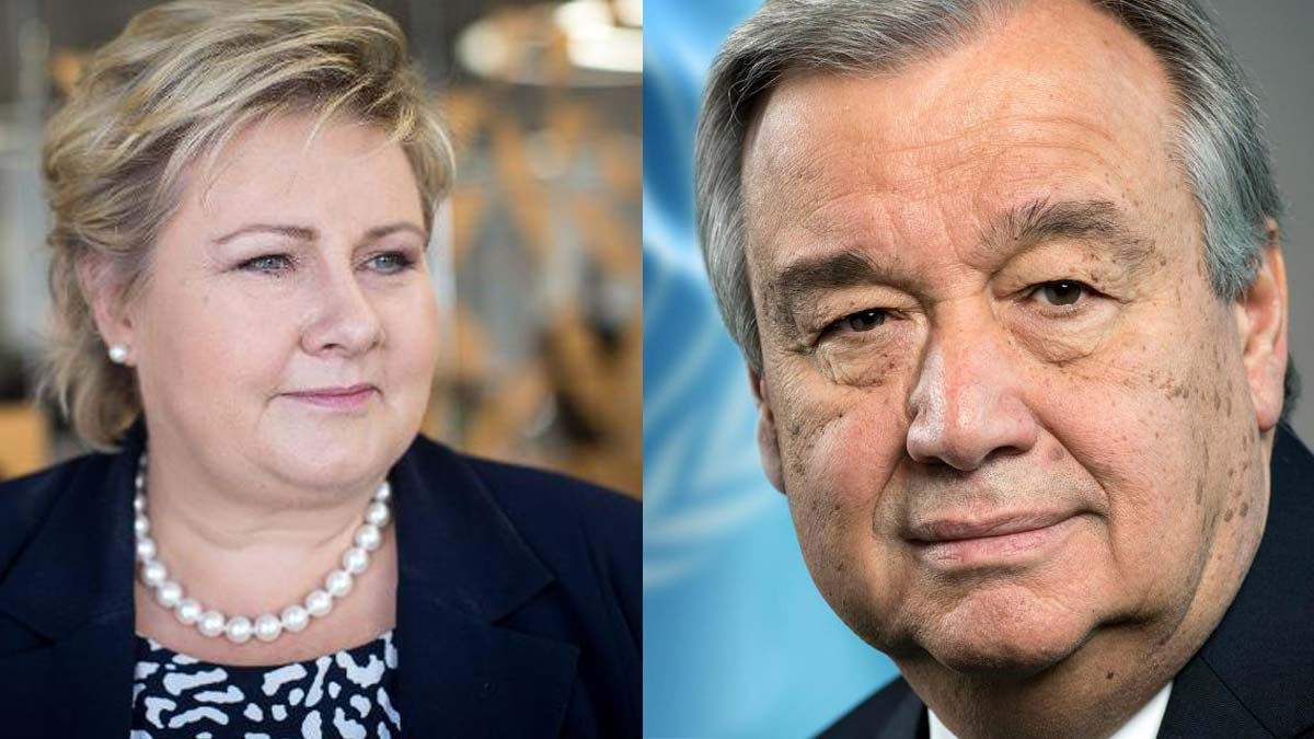 Norway's PM and UN Secretary-General