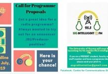 Programme Proposals