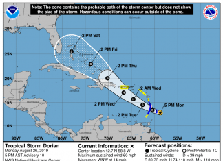 Hurricane Watch in effect for St. Lucia
