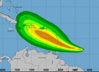 Tropical Storm Dorian Advisory #5