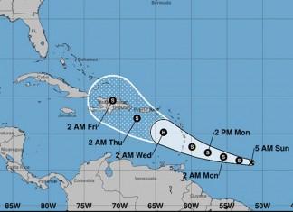 Tropical Storm Dorian Advisory #4