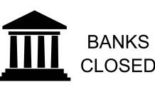 Banks Closed
